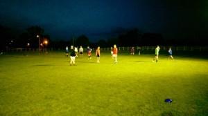 Training under the lights